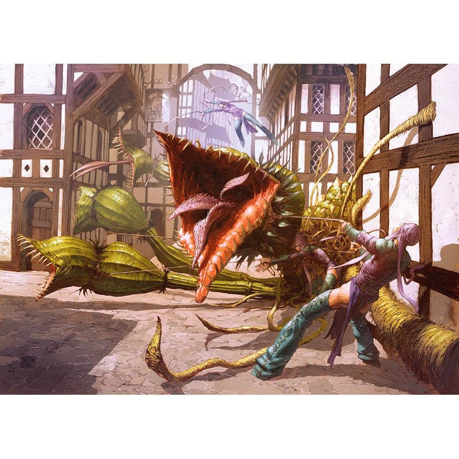 Phytohydra Print - Print - Original Magic Art - Accessories for Magic the Gathering and other card games