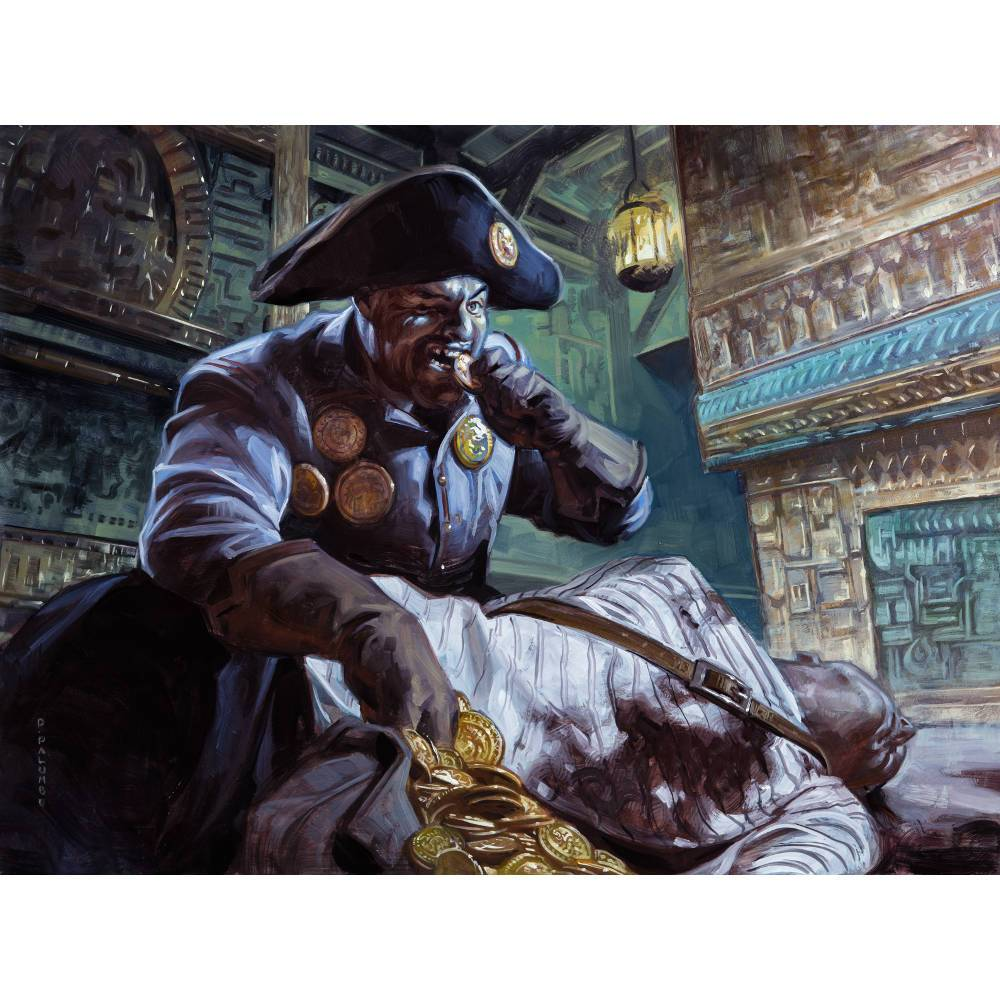 Pitiless Plunderer Print - Print - Original Magic Art - Accessories for Magic the Gathering and other card games