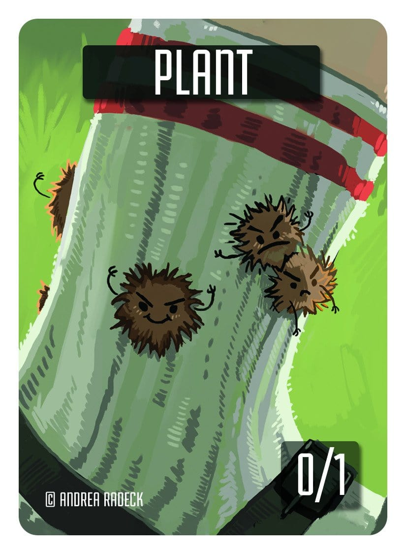 Plant Token (0/1) by Andrea Radeck