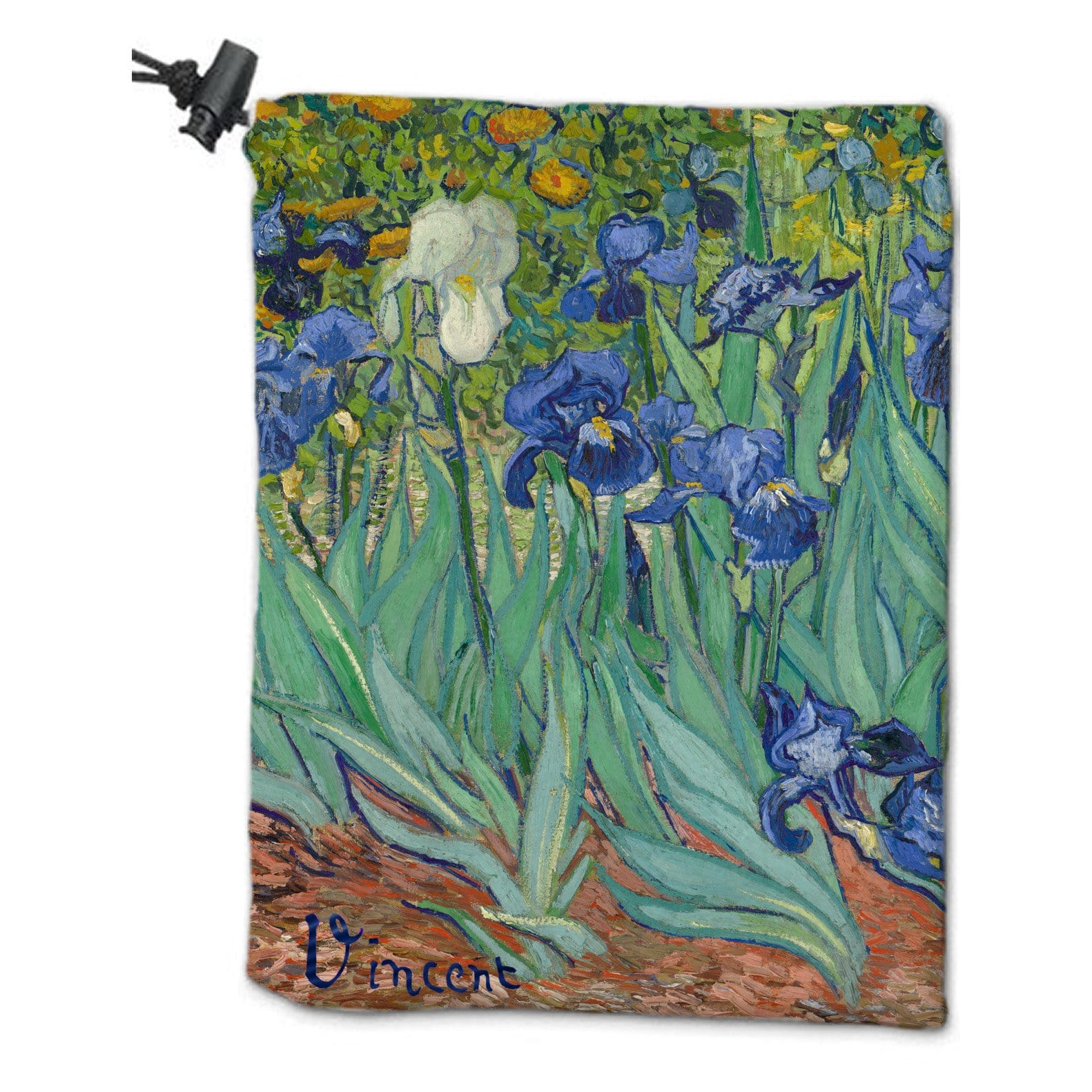 Plant Dice Bag by Vincent van Gogh - Dice Bag - Original Magic Art - Accessories for Magic the Gathering and other card games