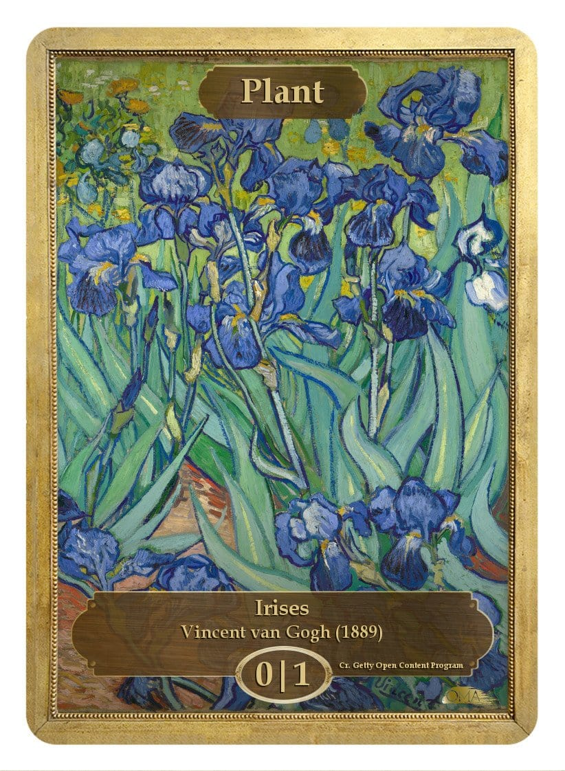 Plant Token (0/1) by Vincent van Gogh