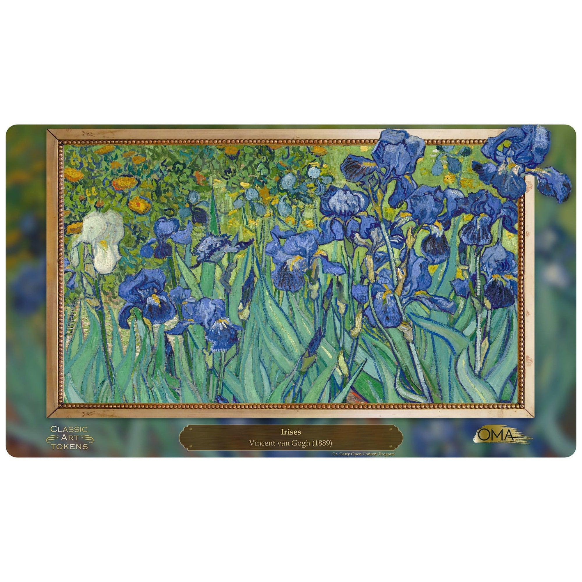 Plant Playmat by Vincent van Gogh - Playmat - Original Magic Art - Accessories for Magic the Gathering and other card games