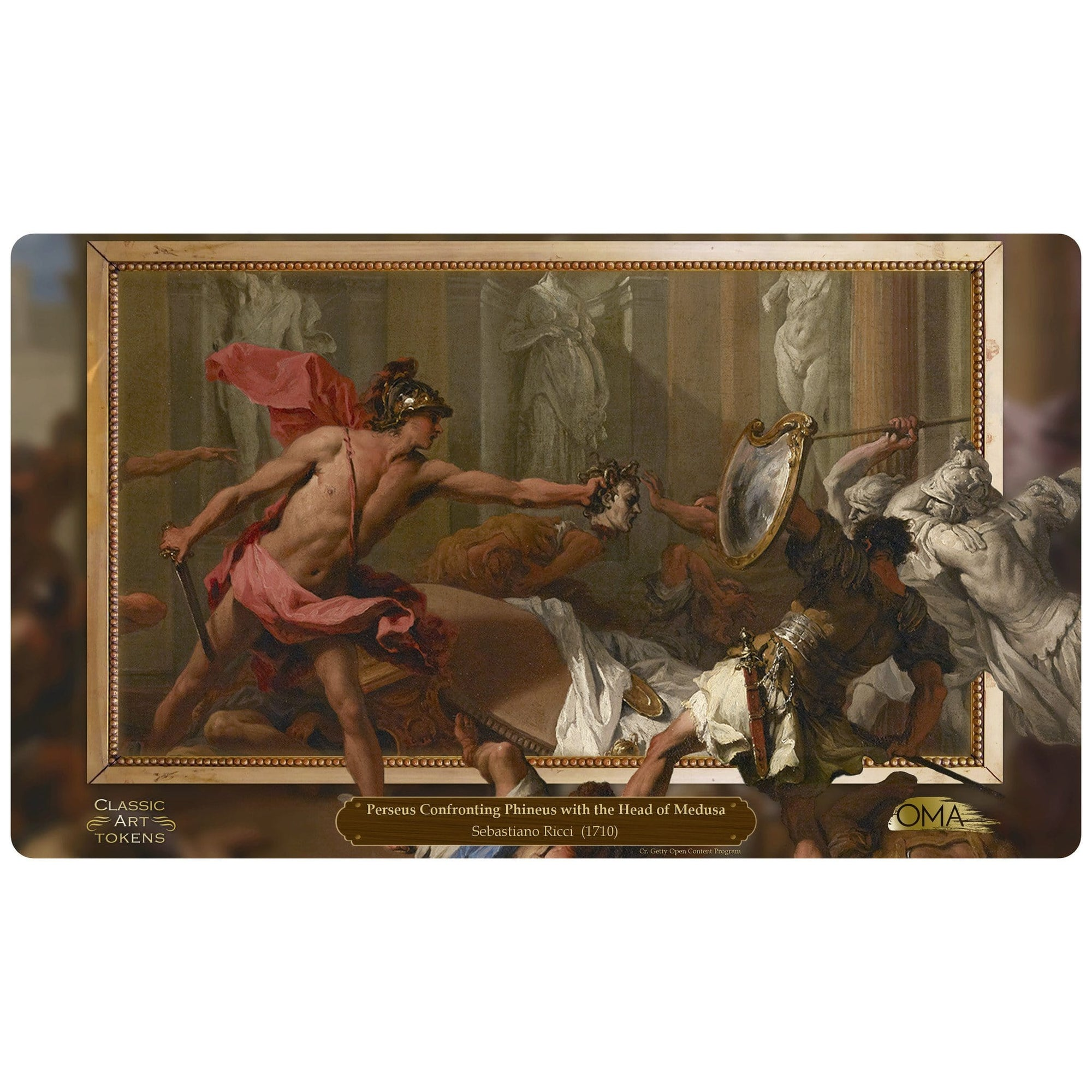 Petrification Playmat by Sebastiano Ricci - Playmat - Original Magic Art - Accessories for Magic the Gathering and other card games