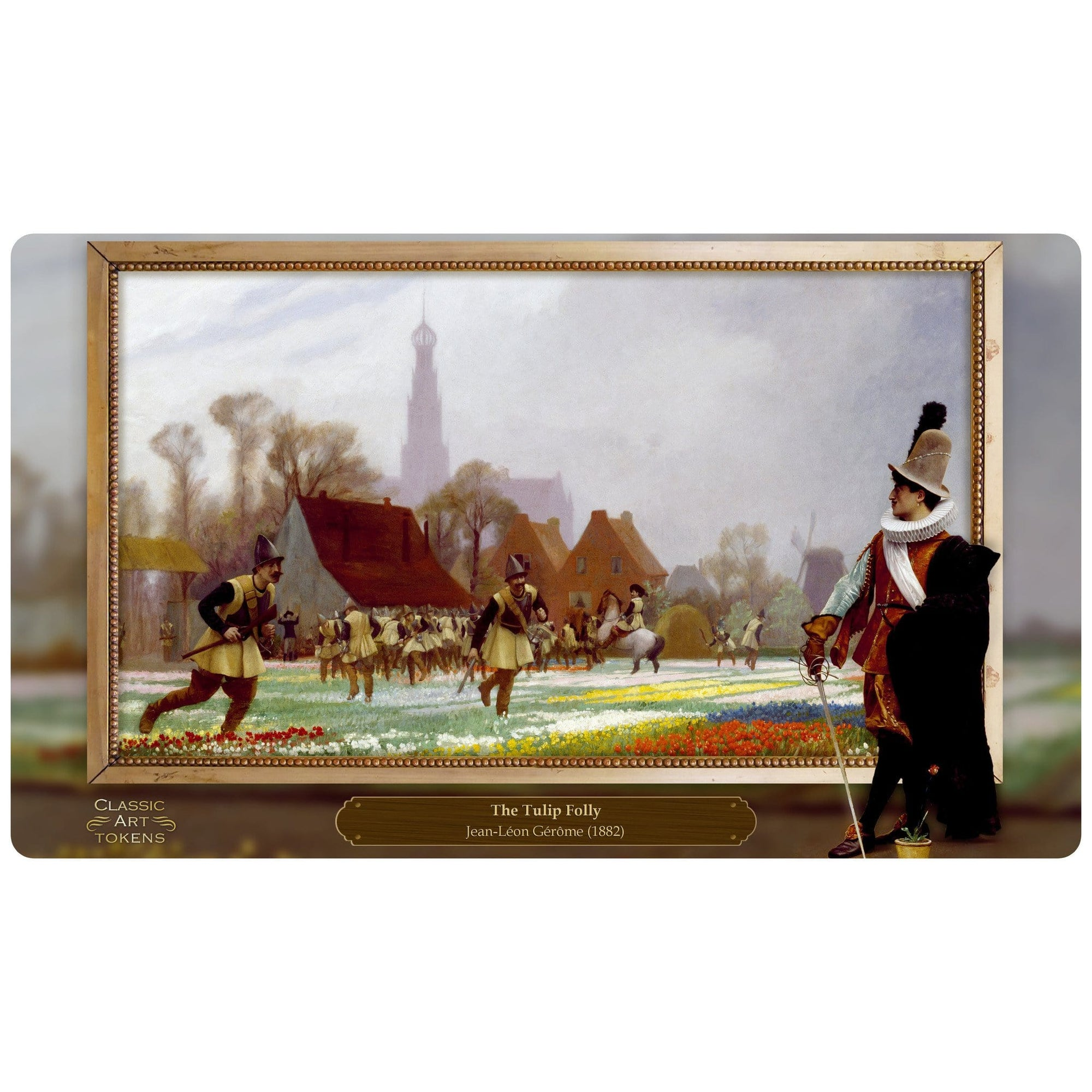 Soldier Playmat by Jean-Léon Gérôme - Playmat - Original Magic Art - Accessories for Magic the Gathering and other card games