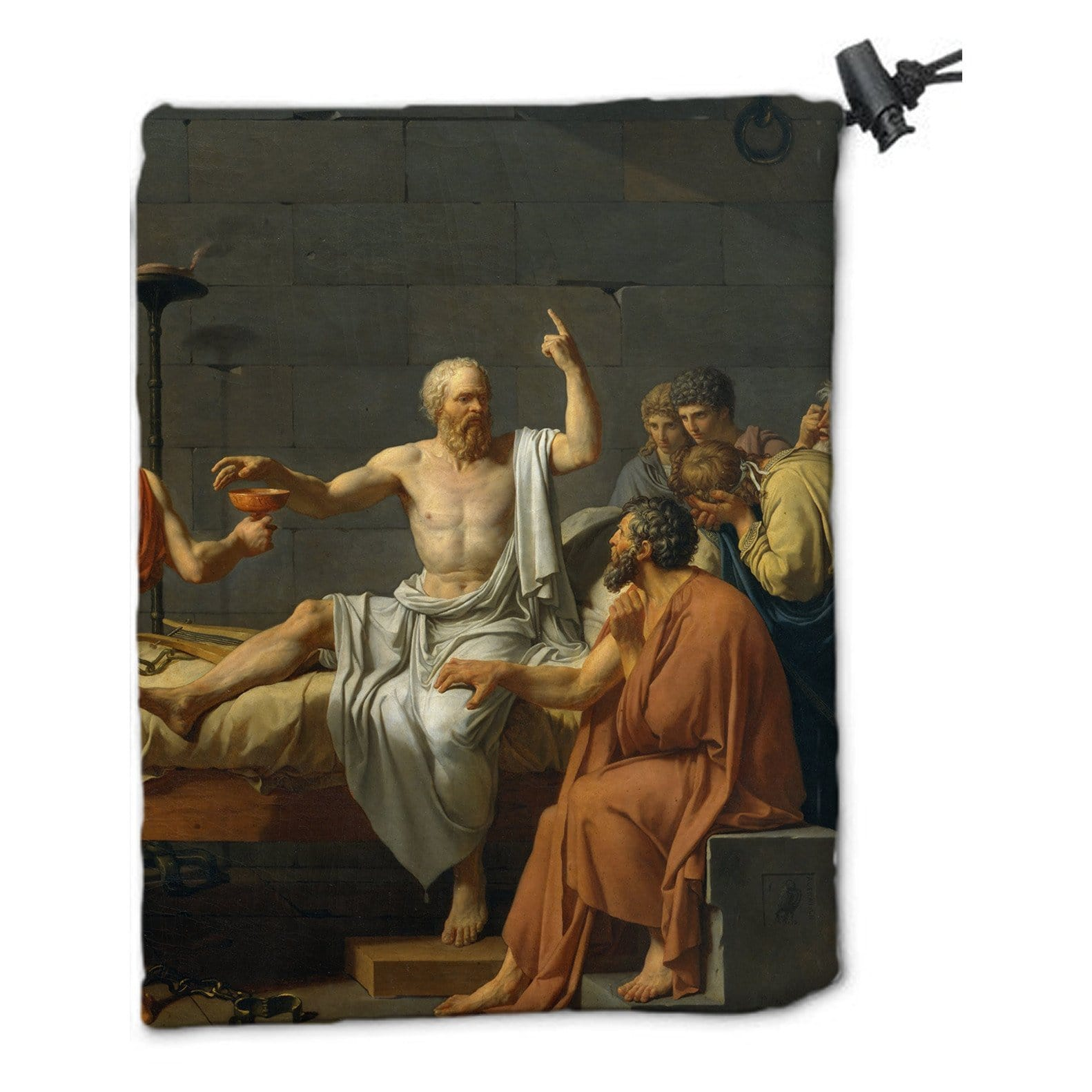 Poison Dice Bag by Jacques-Louis David