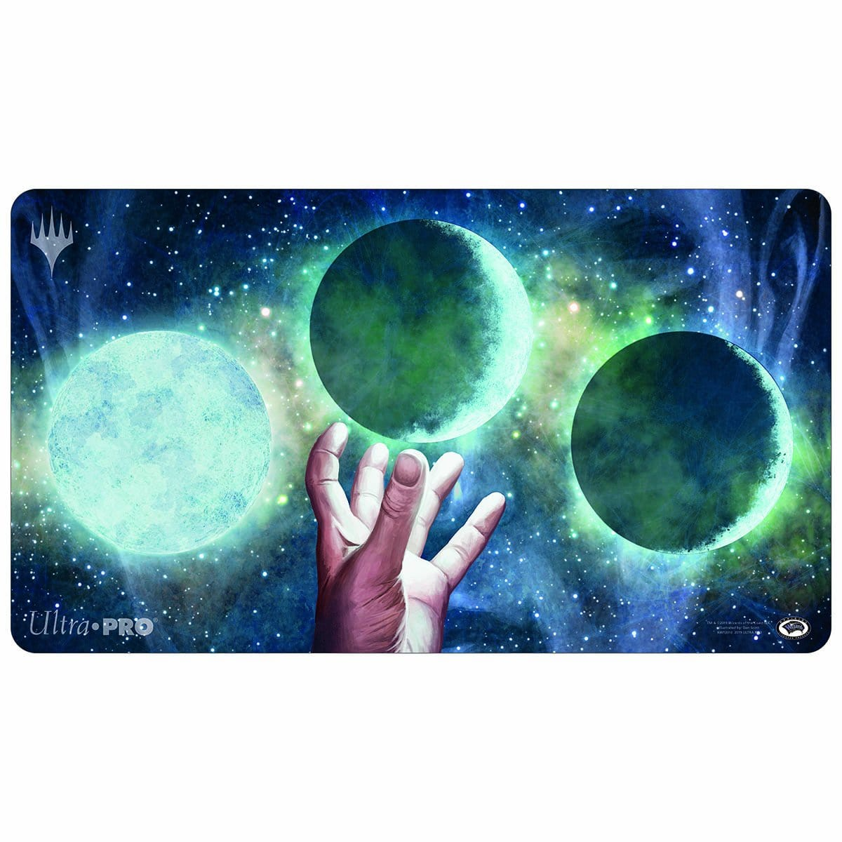 Ponder Playmat - Playmat - Original Magic Art - Accessories for Magic the Gathering and other card games