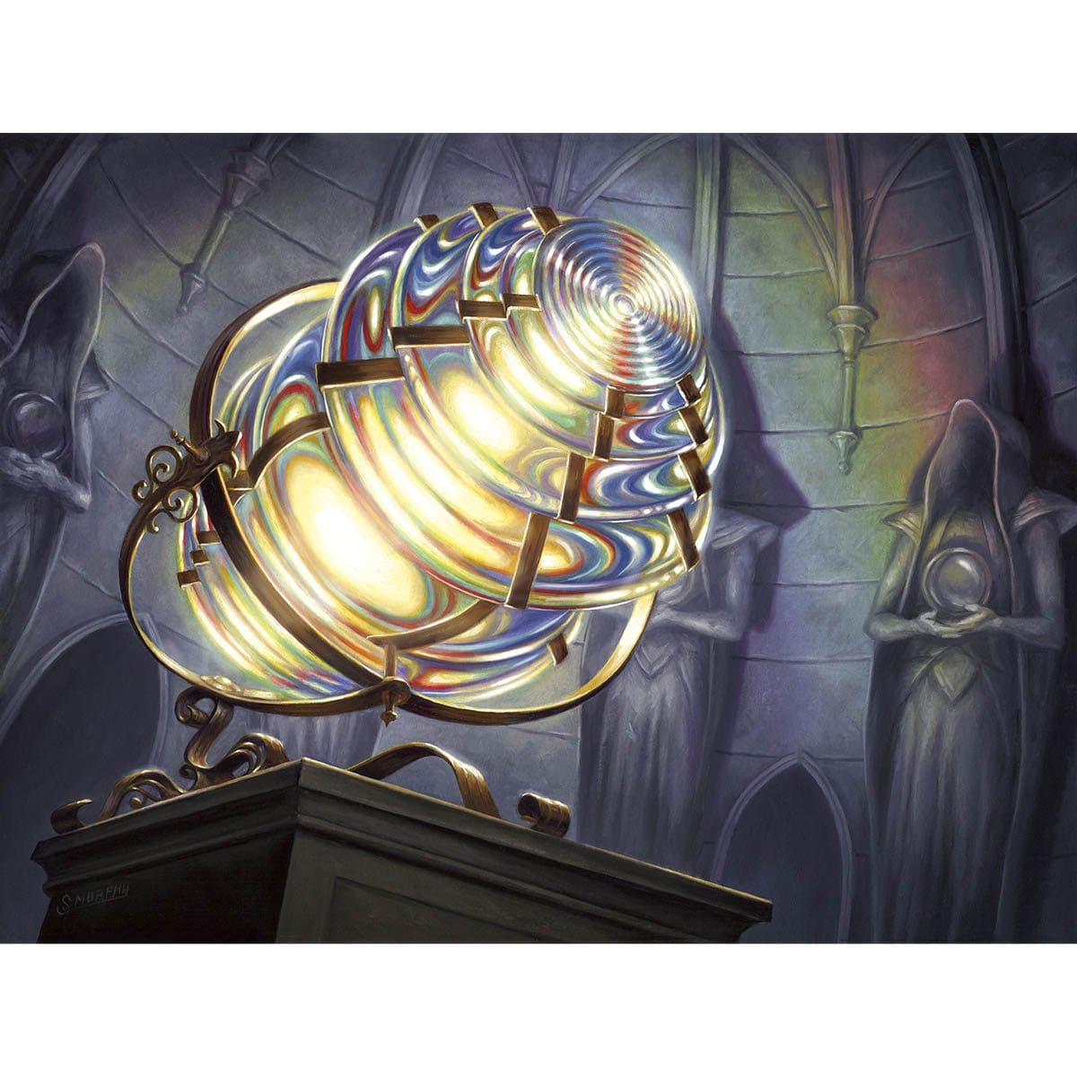 Prismatic Lens Print - Print - Original Magic Art - Accessories for Magic the Gathering and other card games