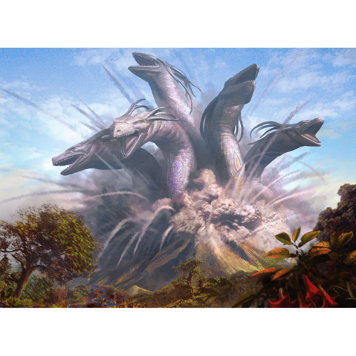Progenitus Print - Print - Original Magic Art - Accessories for Magic the Gathering and other card games