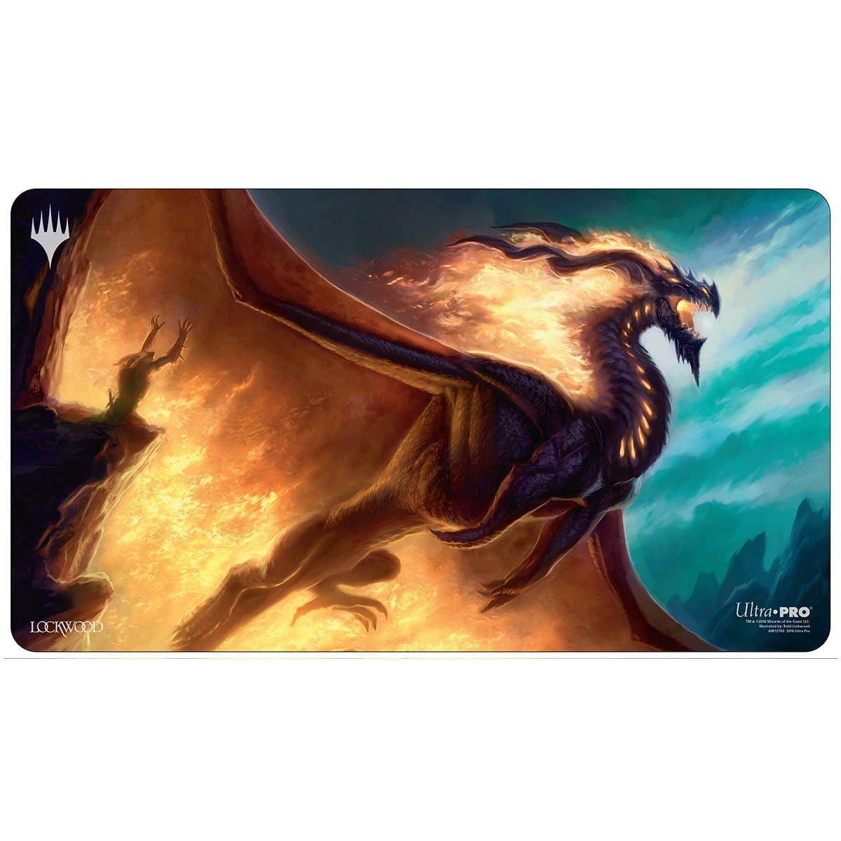 Prossh, Skyraider of Kher Playmat - Playmat - Original Magic Art - Accessories for Magic the Gathering and other card games