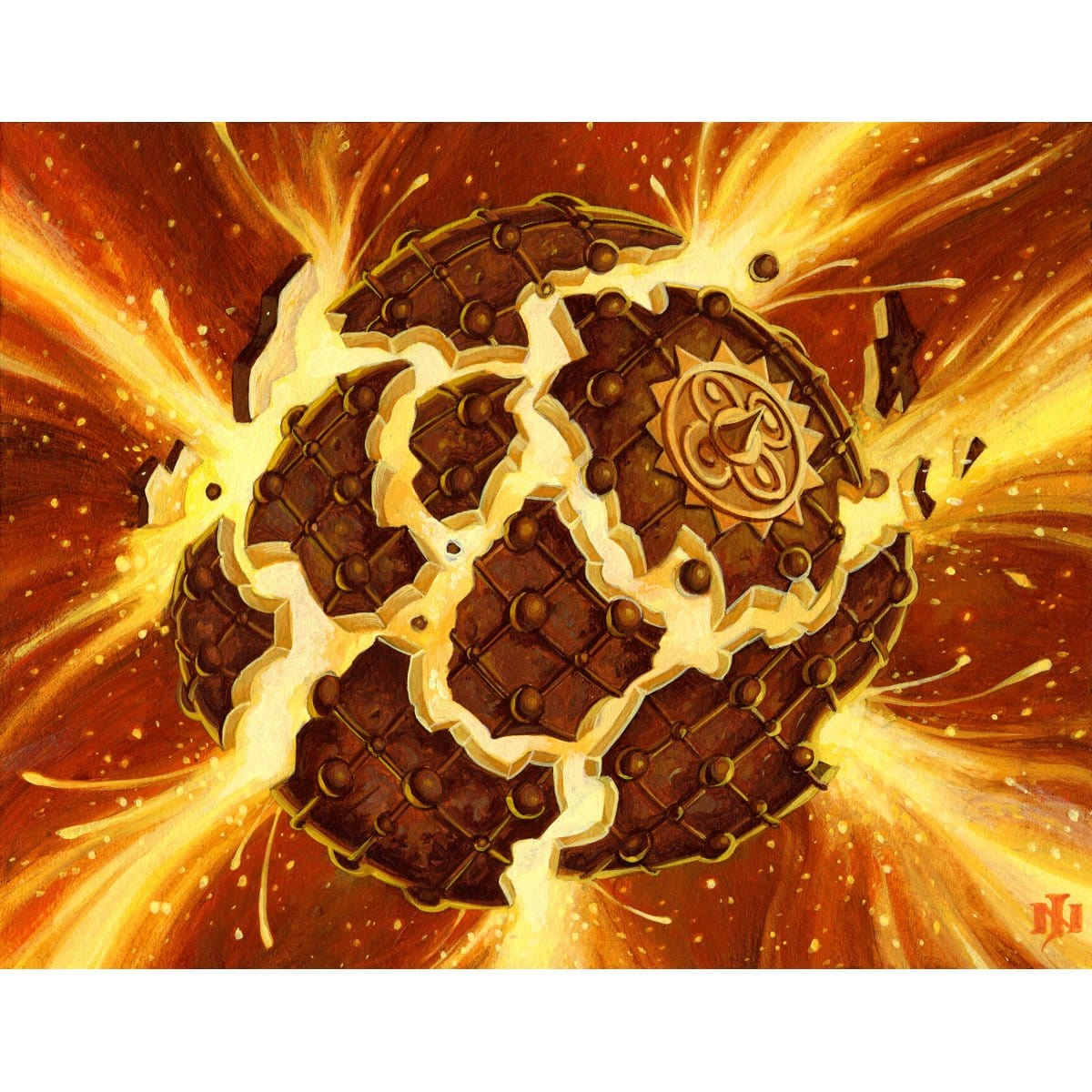 Pyrite Spellbomb Print - Print - Original Magic Art - Accessories for Magic the Gathering and other card games