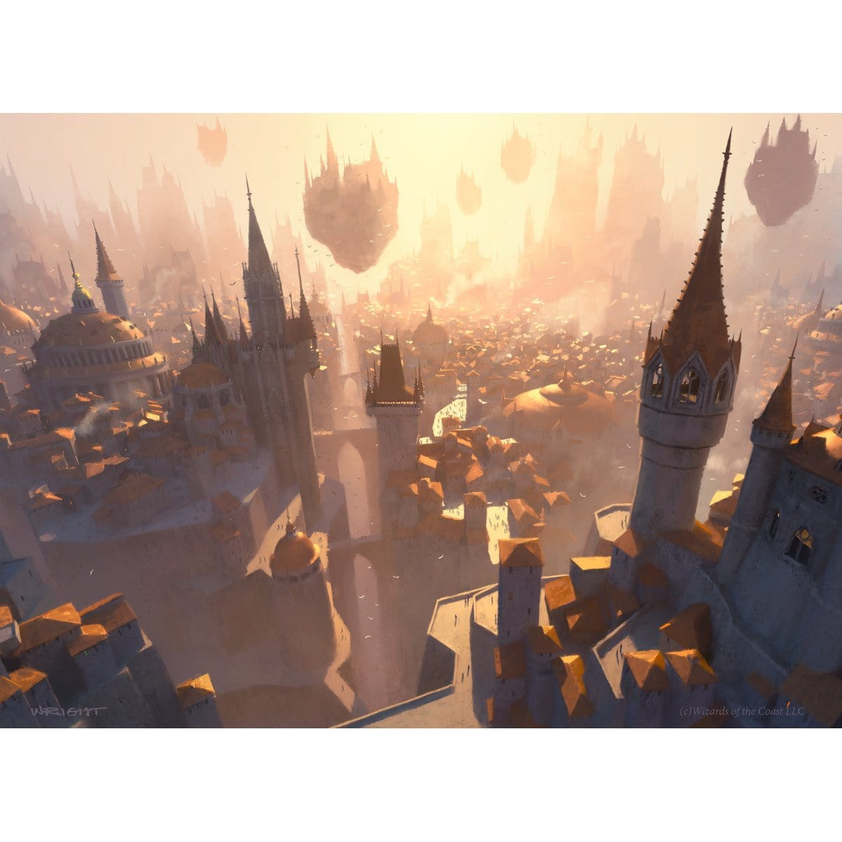 Plains (Return to Ravnica) Print - Print - Original Magic Art - Accessories for Magic the Gathering and other card games