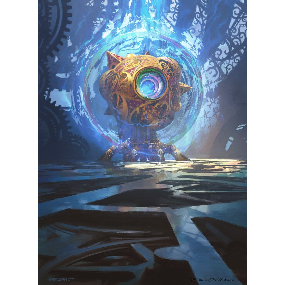 Sphere of Resistance Print - Print - Original Magic Art - Accessories for Magic the Gathering and other card games
