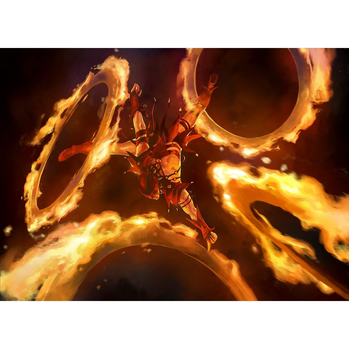 Rakdos Firewheeler Print - Print - Original Magic Art - Accessories for Magic the Gathering and other card games