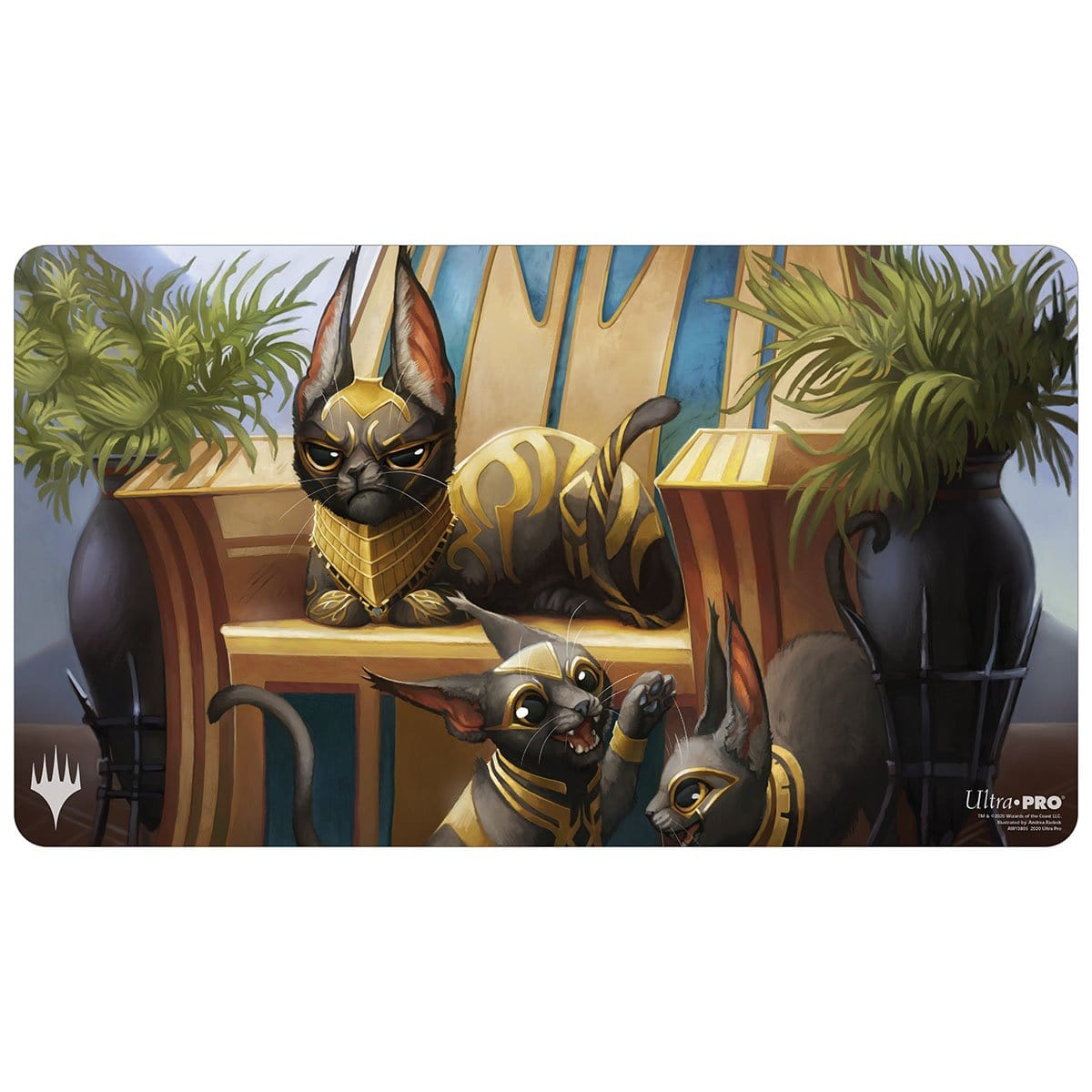 Regal Caracal Playmat (Extended Artwork)