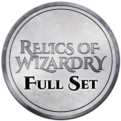 Relics of Wizardry - Full Set - Relic - Original Magic Art - Accessories for Magic the Gathering and other card games