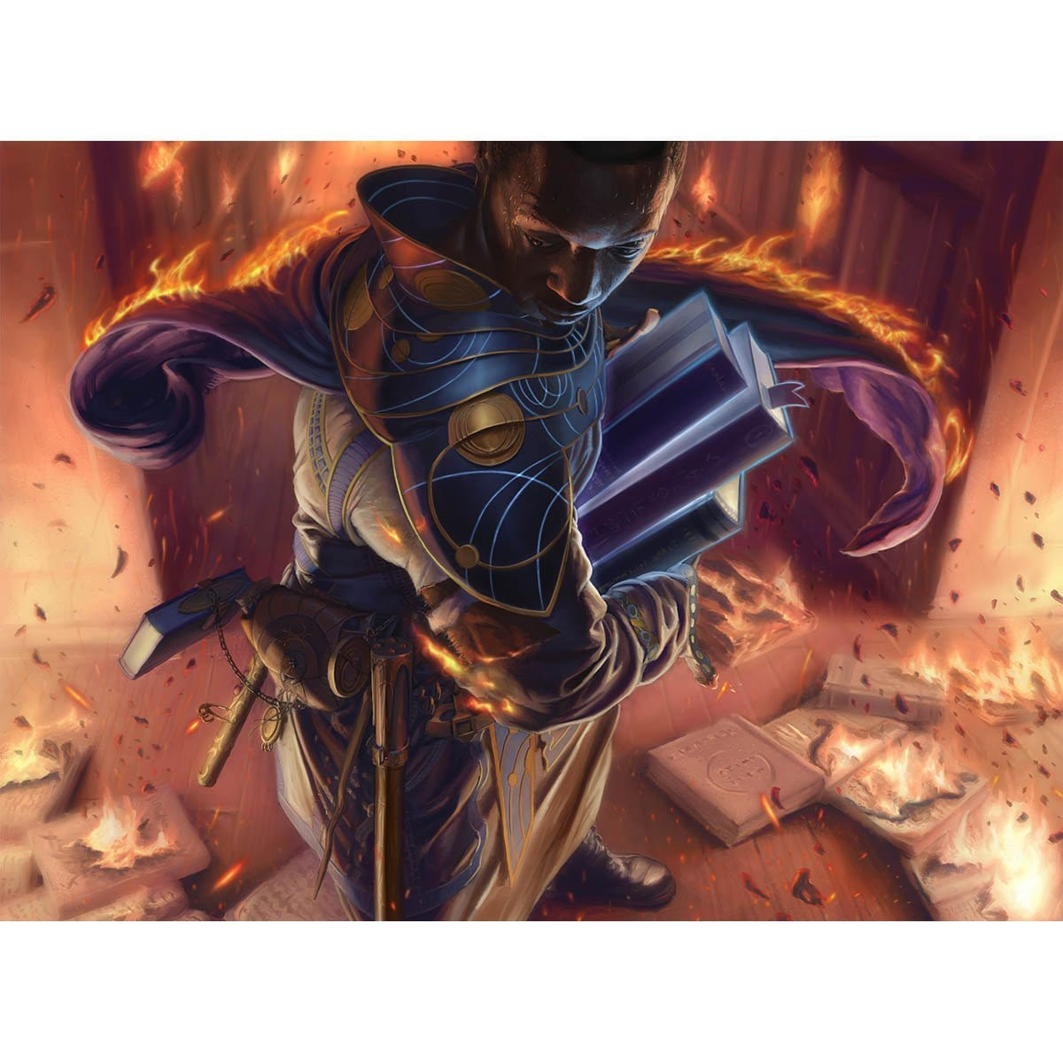 Rescue Print - Print - Original Magic Art - Accessories for Magic the Gathering and other card games