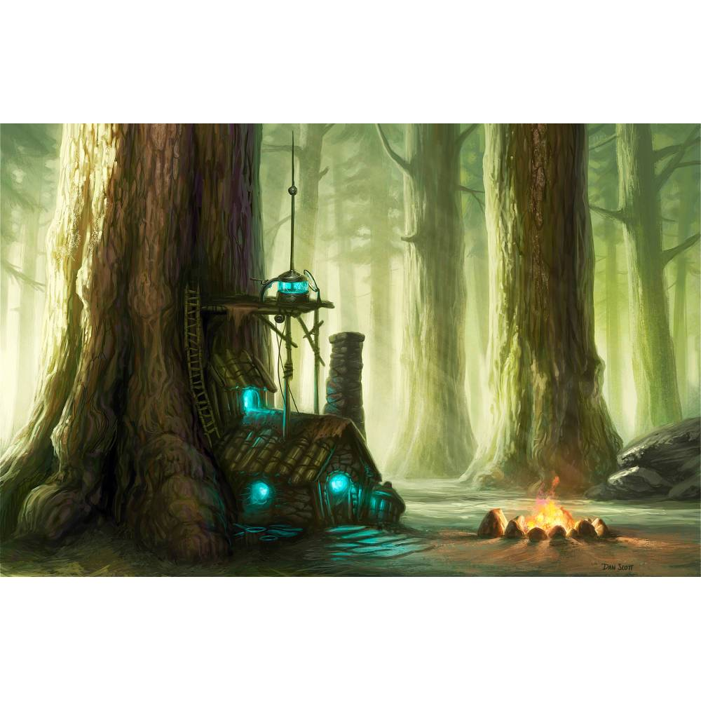 Alchemist's Refuge Print - Print - Original Magic Art - Accessories for Magic the Gathering and other card games