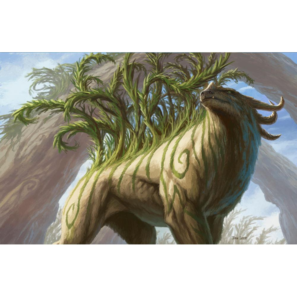 Arborback Stomper Print - Print - Original Magic Art - Accessories for Magic the Gathering and other card games
