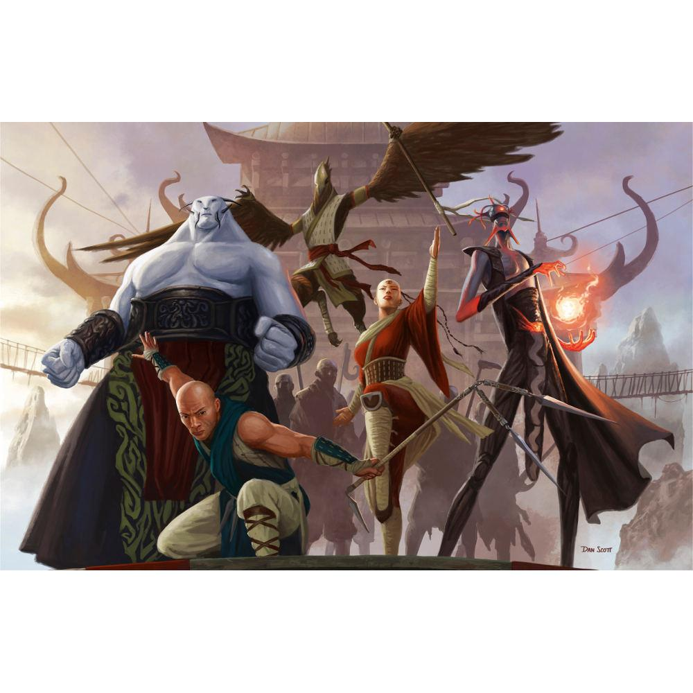 Jeskai Ascendancy Print - Print - Original Magic Art - Accessories for Magic the Gathering and other card games