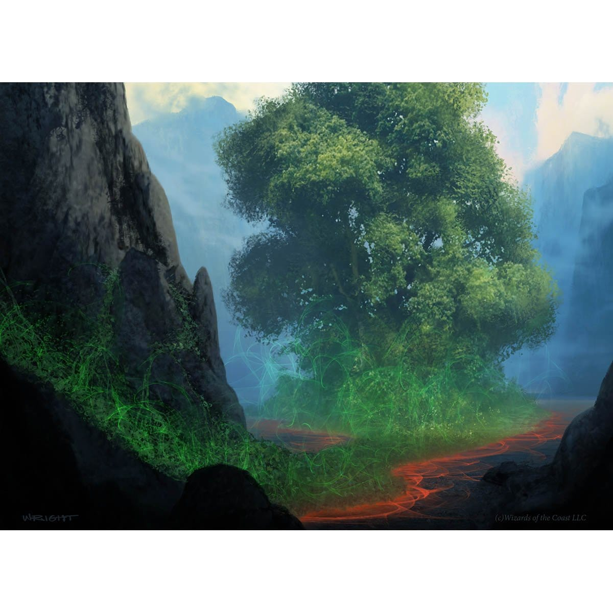 Myriad Landscape Print - Print - Original Magic Art - Accessories for Magic the Gathering and other card games