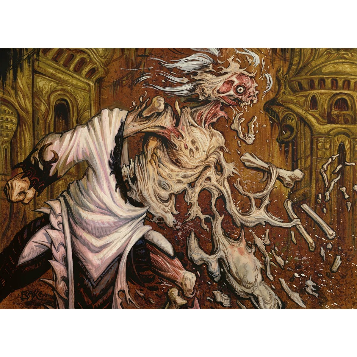 Rise from the Grave Print - Print - Original Magic Art - Accessories for Magic the Gathering and other card games