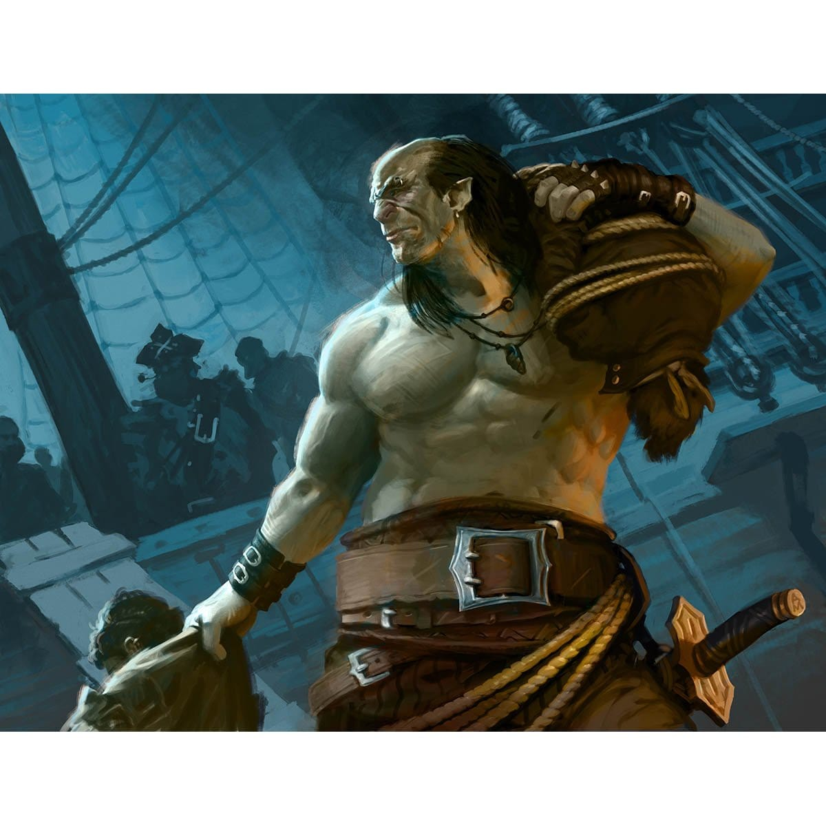 Ruthless Knave Print - Print - Original Magic Art - Accessories for Magic the Gathering and other card games