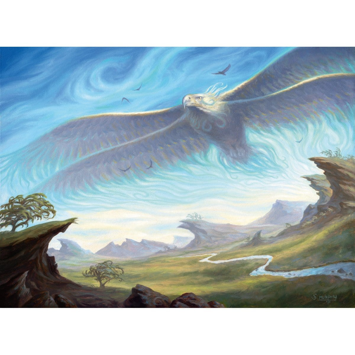 Aetherstorm Roc Print - Print - Original Magic Art - Accessories for Magic the Gathering and other card games