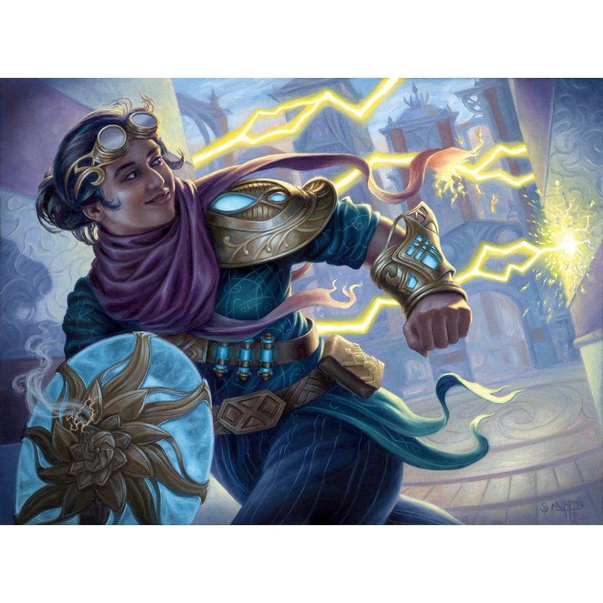 Alley Evasion Print - Print - Original Magic Art - Accessories for Magic the Gathering and other card games