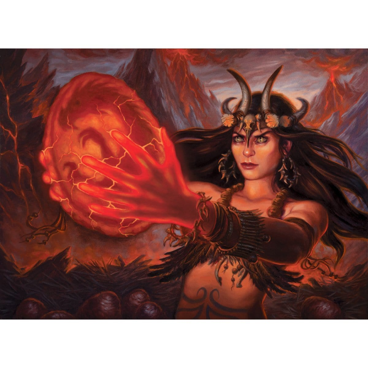 Brood Keeper Print - Print - Original Magic Art - Accessories for Magic the Gathering and other card games