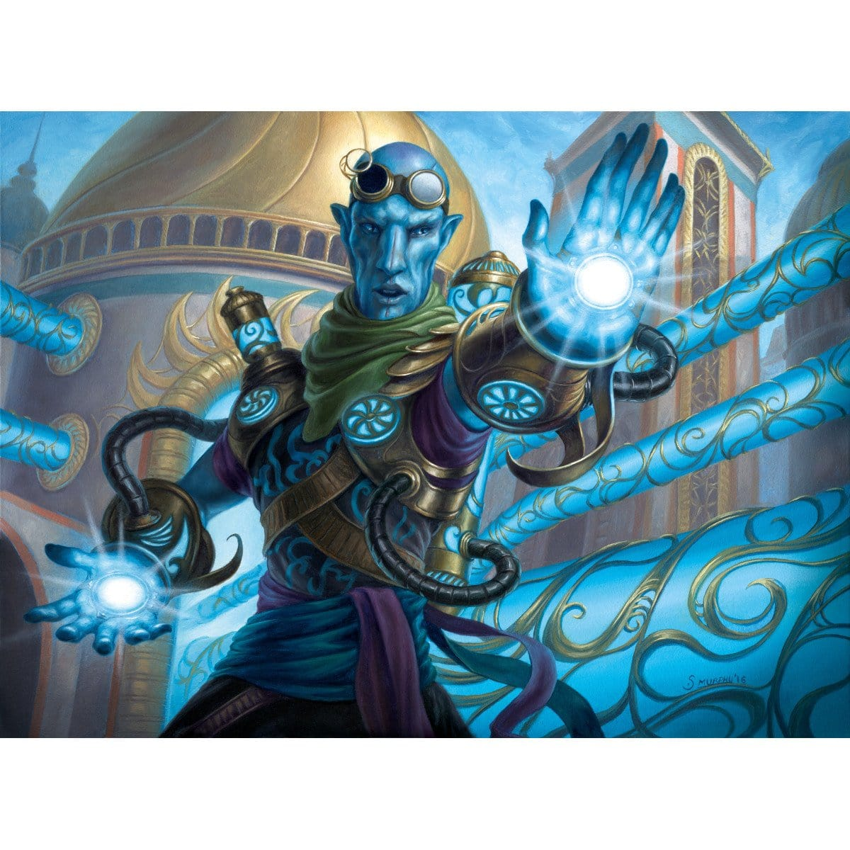 Dispersal Technician Print - Print - Original Magic Art - Accessories for Magic the Gathering and other card games