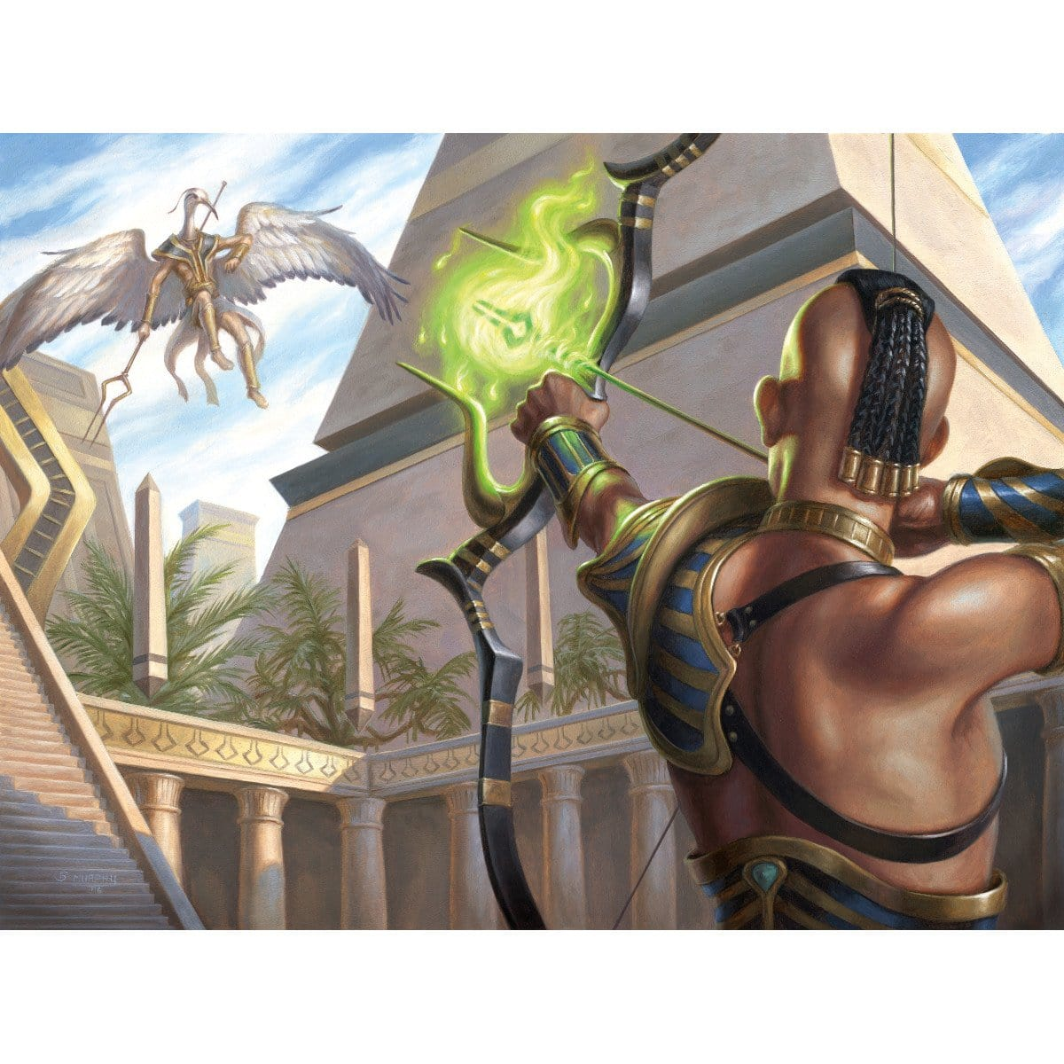 Stinging Shot Print - Print - Original Magic Art - Accessories for Magic the Gathering and other card games