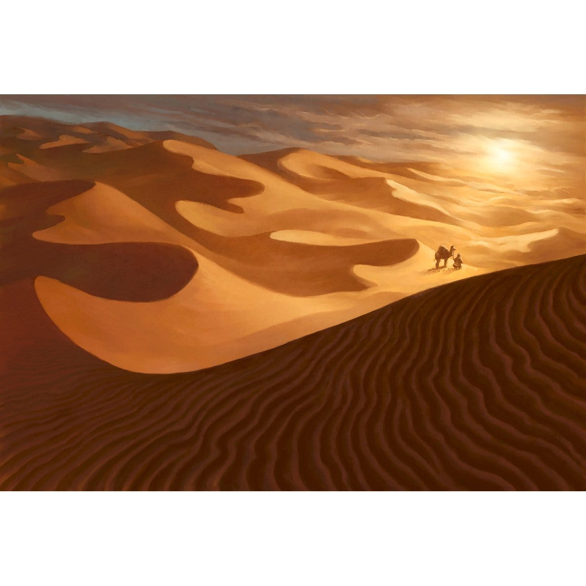 Sea of Sand Print - Print - Original Magic Art - Accessories for Magic the Gathering and other card games