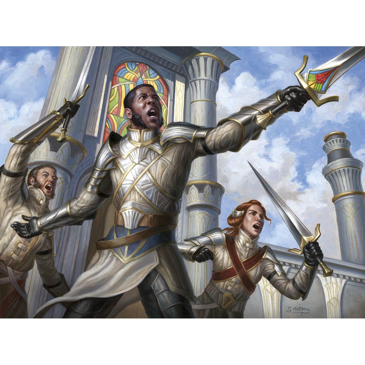 Sergeant-at-Arms Print - Print - Original Magic Art - Accessories for Magic the Gathering and other card games