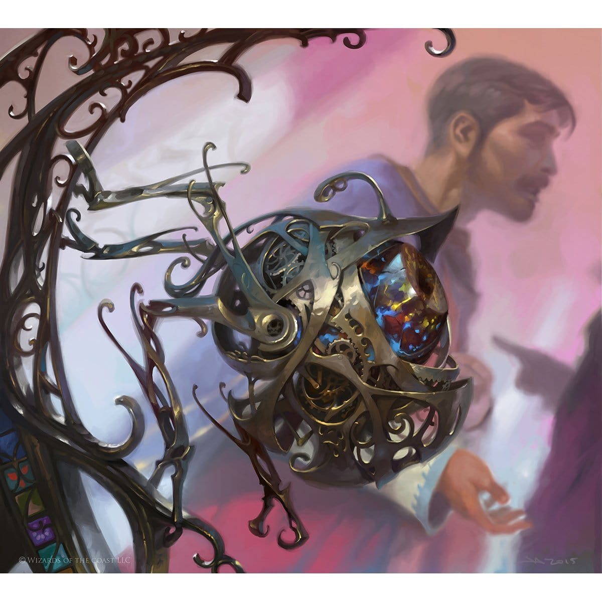 Servo Token Print - Print - Original Magic Art - Accessories for Magic the Gathering and other card games