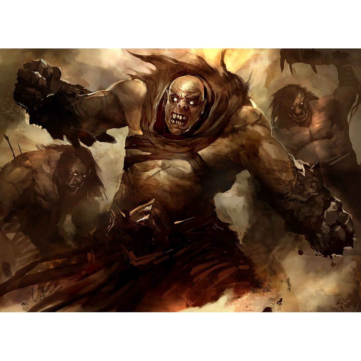 Shatterskull Giant Print - Print - Original Magic Art - Accessories for Magic the Gathering and other card games