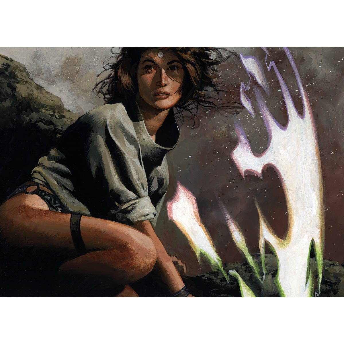 Shelter Print - Print - Original Magic Art - Accessories for Magic the Gathering and other card games