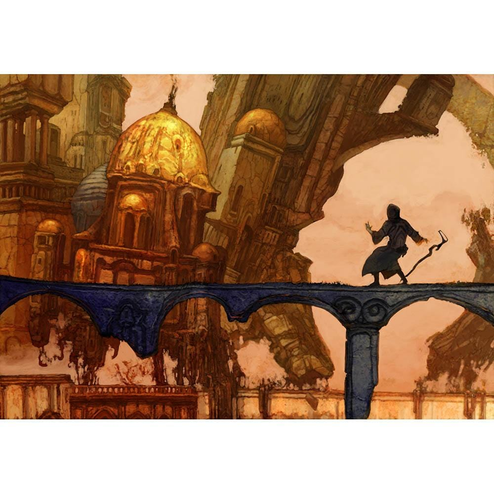 Siege of Towers Print - Print - Original Magic Art - Accessories for Magic the Gathering and other card games