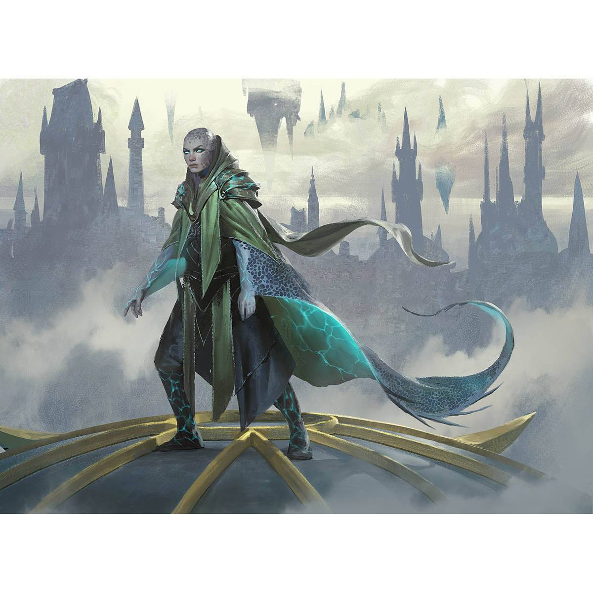 Skatewing Spy Print - Print - Original Magic Art - Accessories for Magic the Gathering and other card games
