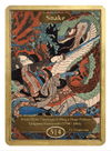 Snake Token (5/4) by Utagawa Kuniyoshi - Token - Original Magic Art - Accessories for Magic the Gathering and other card games
