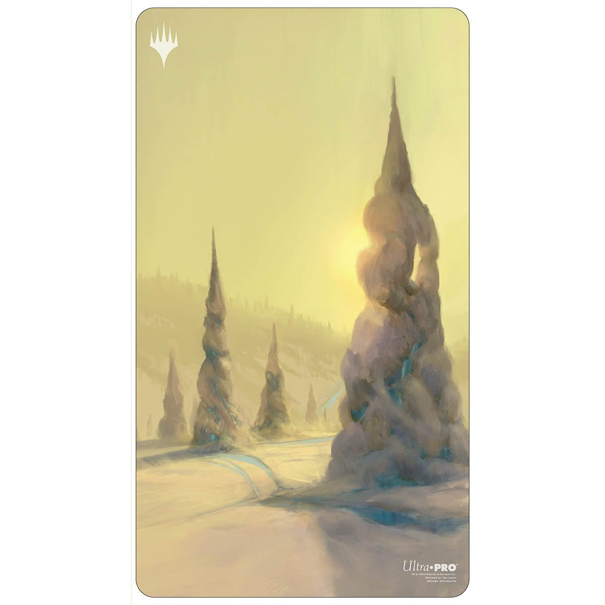 Snow-Covered Forest Playmat - Playmat - Original Magic Art - Accessories for Magic the Gathering and other card games