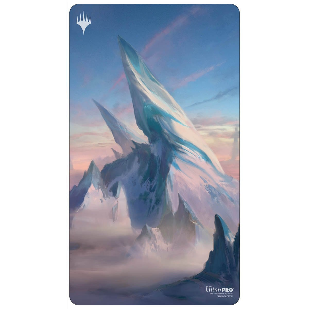 Snow-Covered Mountain Playmat - Playmat - Original Magic Art - Accessories for Magic the Gathering and other card games