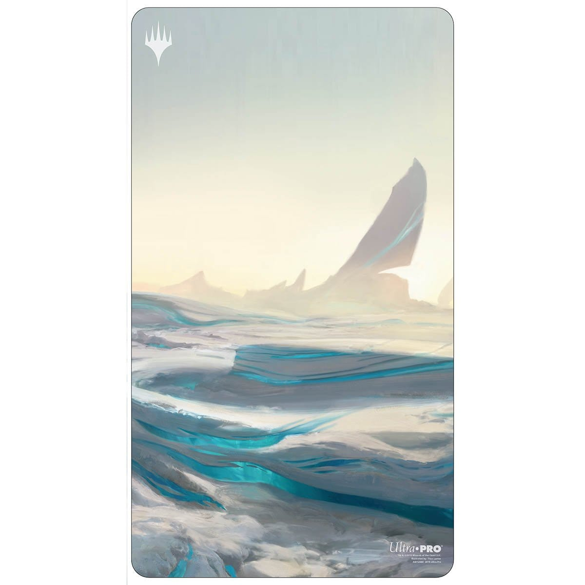 Snow-Covered Plains Playmat - Playmat - Original Magic Art - Accessories for Magic the Gathering and other card games