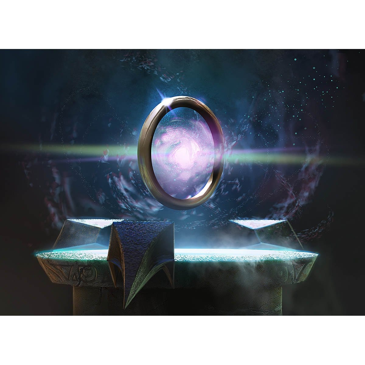 Sol Ring Print - Print - Original Magic Art - Accessories for Magic the Gathering and other card games