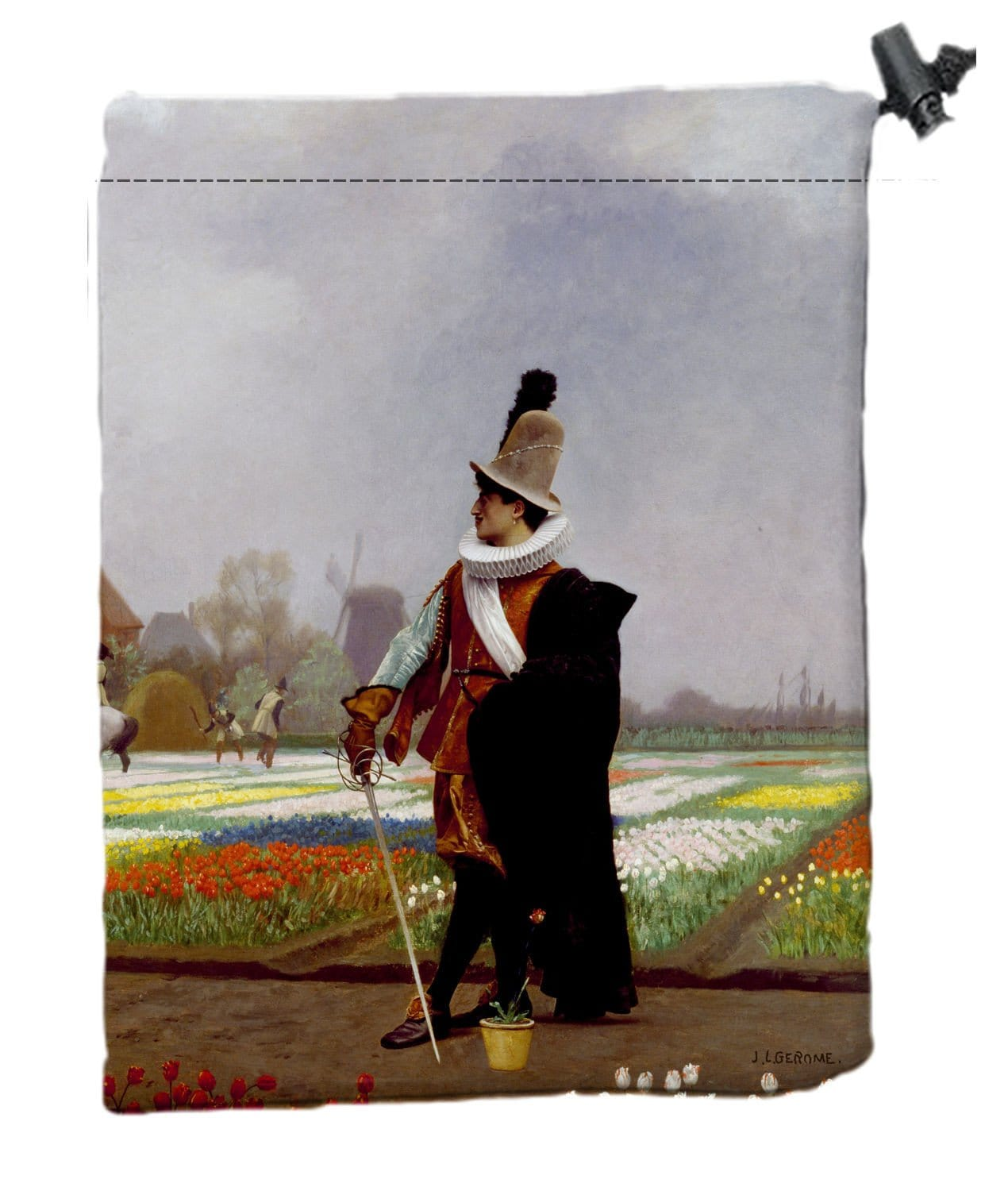 Soldier Dice Bag by Jean-Léon Gérôme