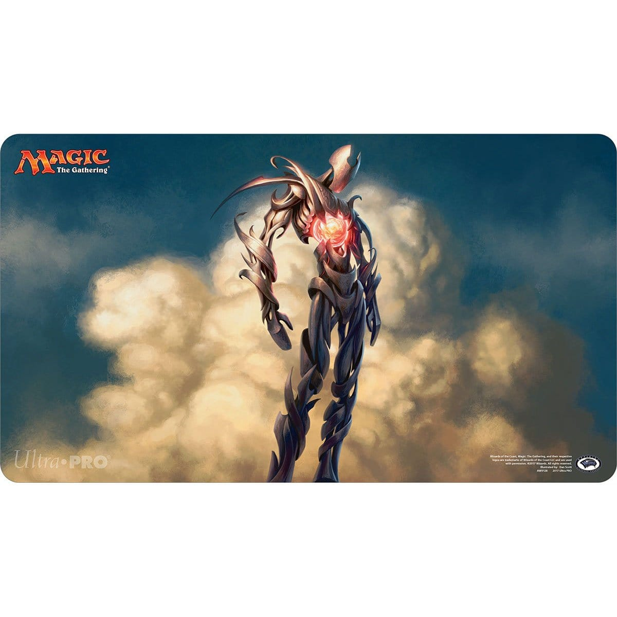 Solemn Simulacrum Playmat - Playmat - Original Magic Art - Accessories for Magic the Gathering and other card games