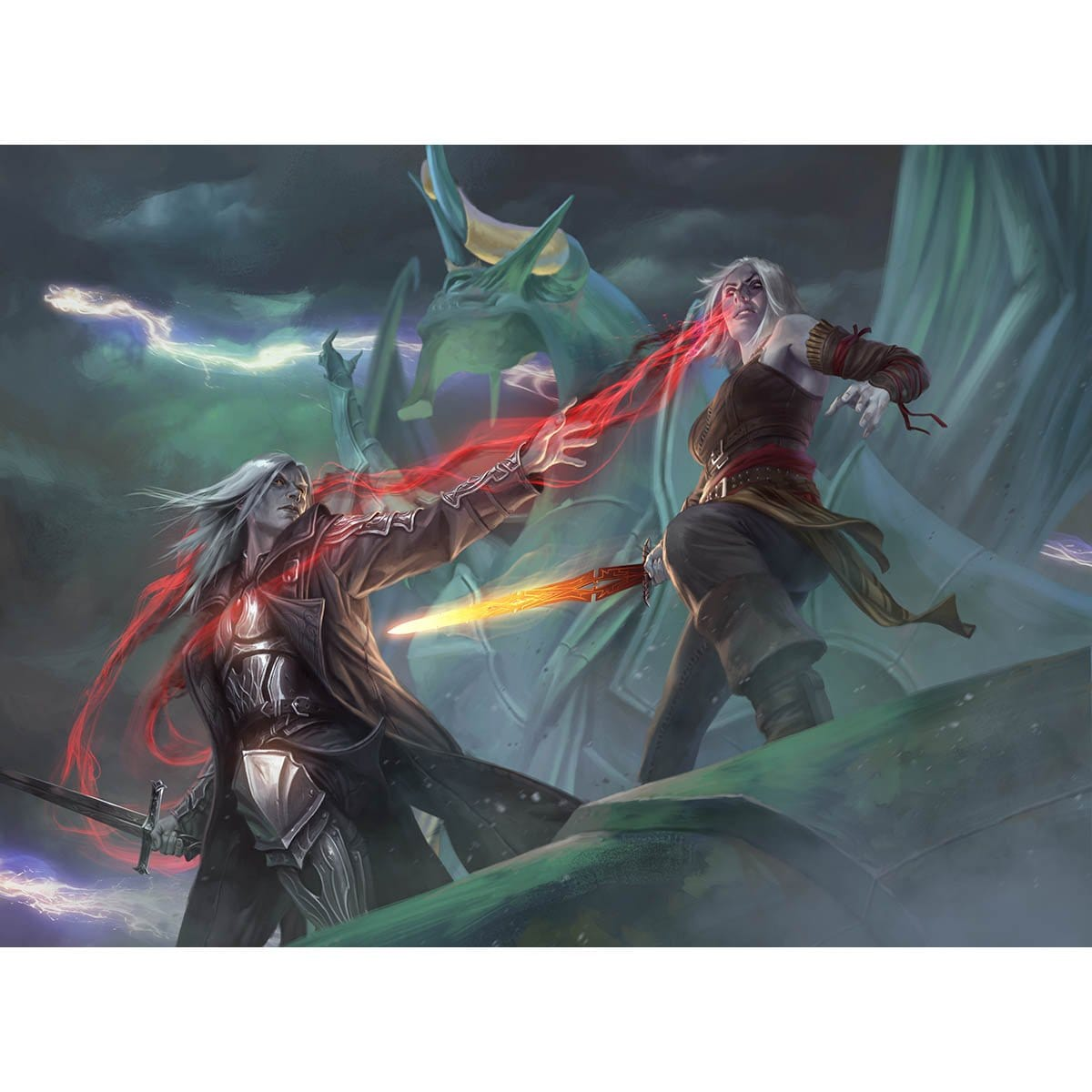 Sorin's Thirst Print - Print - Original Magic Art - Accessories for Magic the Gathering and other card games