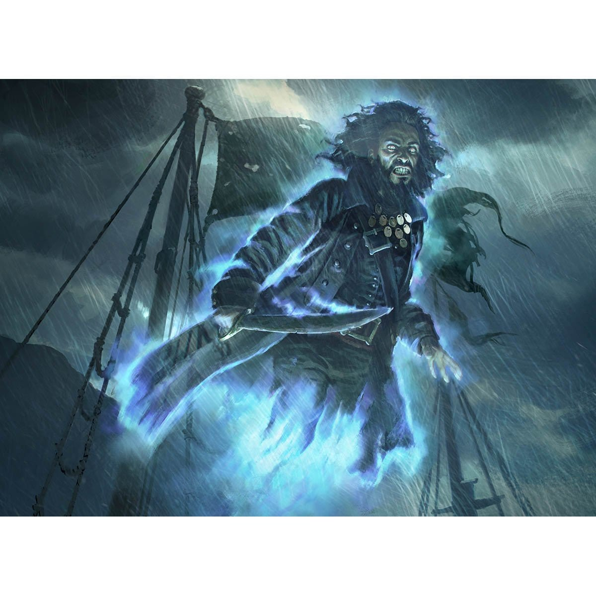 Spectral Sailor Print - Print - Original Magic Art - Accessories for Magic the Gathering and other card games