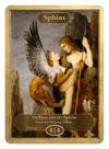 Sphinx Token (4/4) by Gustave Moreau