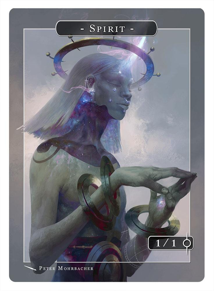 Spirit Token (1/1) by Peter Mohrbacher
