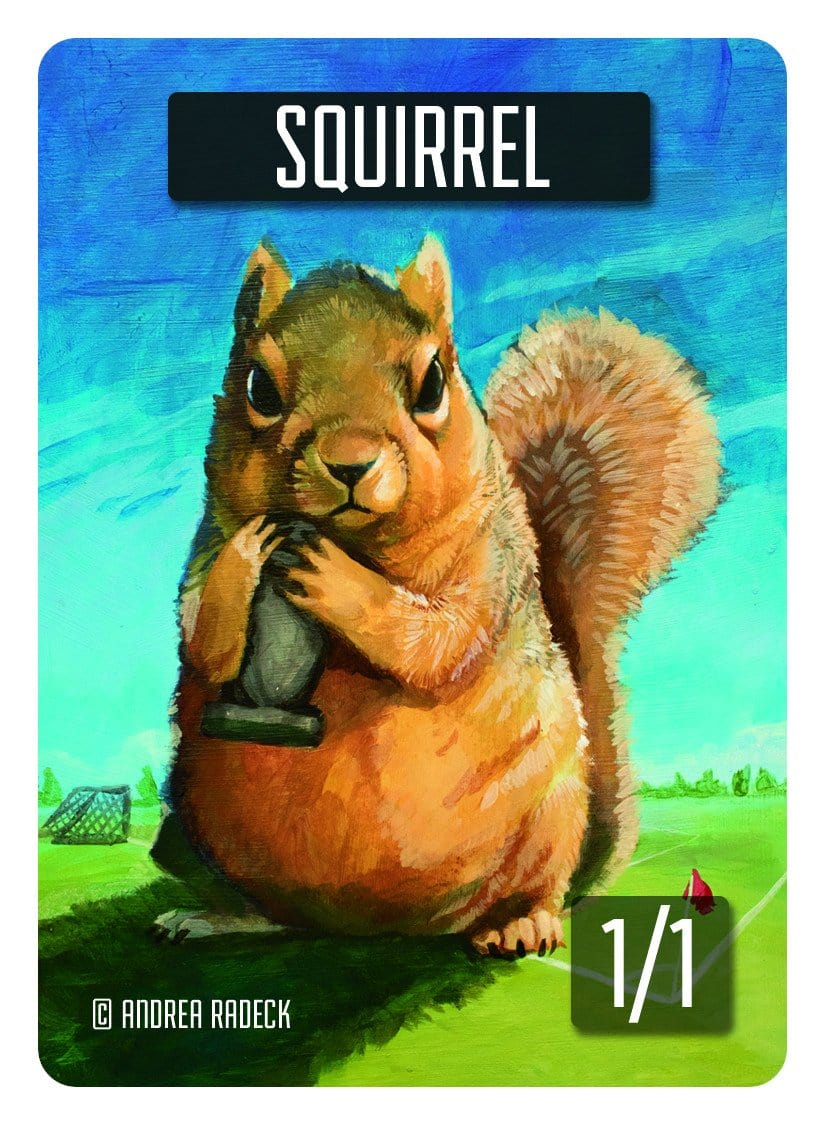 Squirrel Token (1/1) by Andrea Radeck